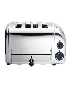 This is an image of a Dualit Bun Toaster 4 Bun Black 43027