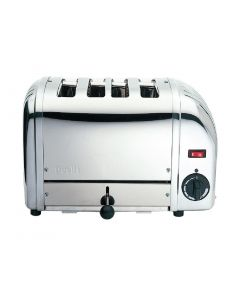 This is an image of a Dualit Bun Toaster 4 Bun White 43022