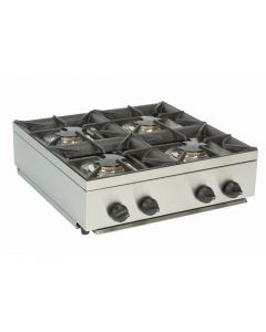 This is an image of a Parry LPG Gas Hob Unit - 600mm Wide (Direct)