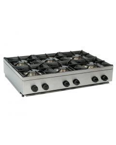 This is an image of a Parry LPG Gas Hob Unit - 900mm Wide (Direct)