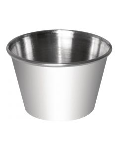 This is an image of a Sauce Cup StSt - 8oz (Box 12)