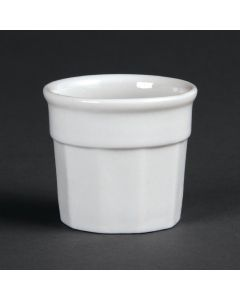This is an image of a Olympia Whiteware Dipping Pot - 50x45mm (Box 12)