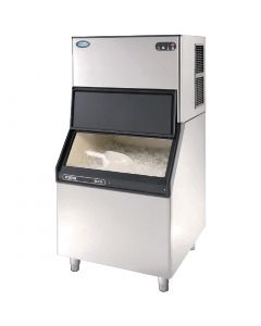 This is an image of a Foster Modular Air-Cooled Ice Maker F202 with SB205 Bin