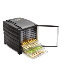 This is an image of a Buffalo Dehydrator 10 tray with timer with door