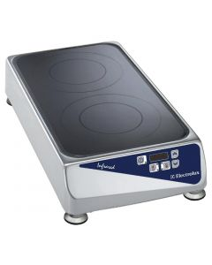 This is an image of a Electrolux Infrared Top Double Zone DIL2G (Direct)