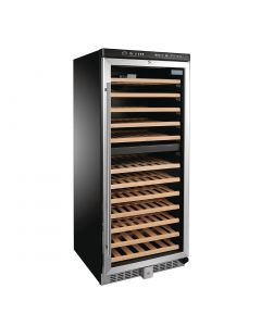 This is an image of a Polar Dual Zone Wine Cooler 92 Bottles