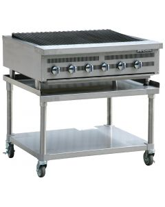 This is an image of a Imperial Radiant Natural Gas Chargrill IRBS-36-NG