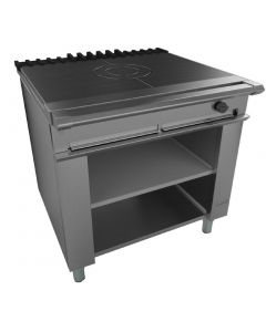 This is an image of a Falcon Chieftain Single Bullseye Solid Top Boiling Table LPG (Direct)