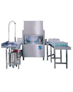 This is an image of a Classeq Alto  130-CVGL Conveyor Dishwasher