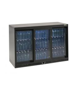This is an image of a Gamko Bottle Cooler - Triple Sliding Door 315 Ltr