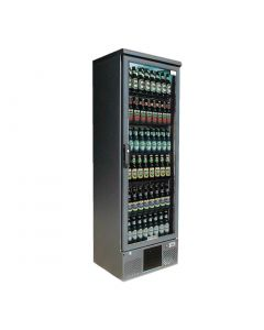 This is an image of a Gamko Maxiglass 1 Glass Door 300Ltr Bottle Cooler Cabinet MG2300RG