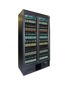 This is an image of a Gamko Maxiglass 2 Glass Door 500Ltr Bottle Cooler Cabinet MG2500SD