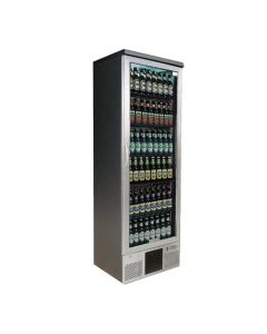 This is an image of a Gamko Maxiglass 1 Glass Door 300Ltr Bottle Cooler Cabinet MG2300RGCS