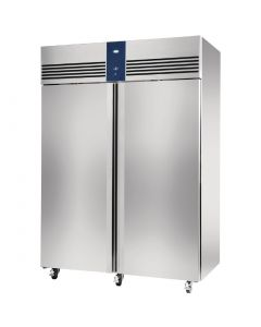 This is an image of a Foster Double Door Fridge Stainless Steel 1350Ltr EP1440H