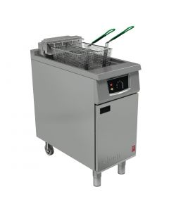 This is an image of a Falcon 400 Series  Twin Basket Electric Fryer E401