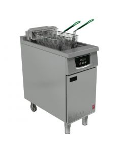 This is an image of a Falcon 400 Twin Basket Programmable Fryer E402