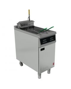 This is an image of a Falcon 400 Twin Pan Electric Filtration Fryer E422F