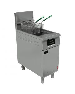 This is an image of a Falcon 400 Twin Basket Natural Gas Fryer G402F