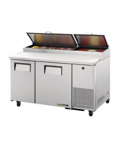 This is an image of a True 2 Door Pizza Prep Table TPP-60