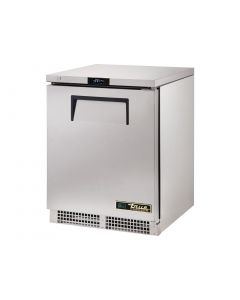 This is an image of a True 1 Solid Hinged Door Undercounter Freezer TUC-24-F-HC