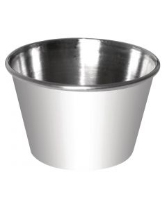 This is an image of a Sauce Cup StSt - 12oz (Box 12)