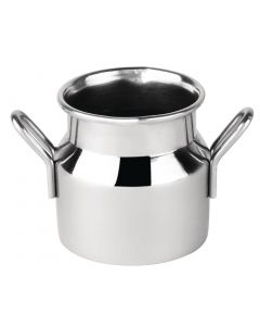 This is an image of a Mini Milk Churn Stainless Steel Small - 60ml 2oz 45(dia) x 45(h)mm