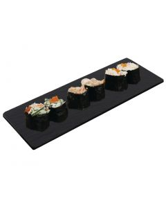This is an image of a Olympia Slate Platter for GM258 Tray - 280x100mm (Set 2)