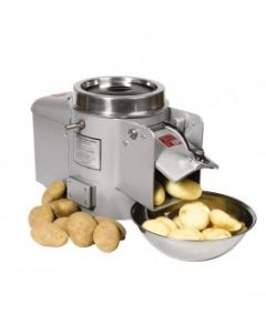 This is an image of a Metcalfe EP10 45kg Potato Peeler Grey (Direct)