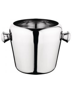 This is an image of a Olympia Stainless Steel Mini Ice Bucket - 1Ltr 40oz