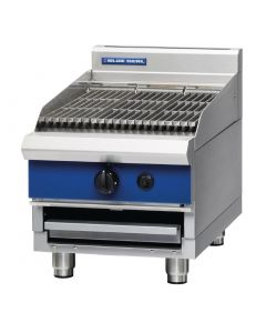 This is an image of a Blue Seal Countertop Chargrill Natural Gas G593 B