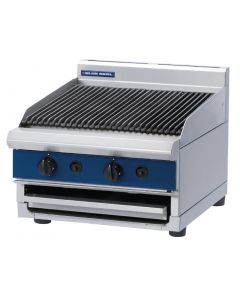 This is an image of a Blue Seal Countertop Chargrill Natural Gas G594 B