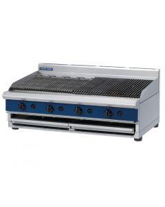 This is an image of a Blue Seal 1200mm wide Chargrill Bench LPG (Direct)