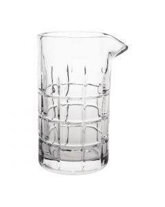 This is an image of a Olympia Mixing Glass - 580ml 20oz 165(h)x95(dia)x110(w)mm