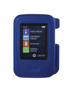 This is an image of a Comark HT100 HACCP Touch Screen Data Logger