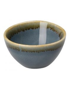 "This is an image of a Olympia Kiln Ocean Round Dipping Pot 68x38mm 2 34x1 12"" 50ml 175oz (Box 12)"