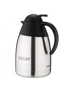 This is an image of a Vacuum Jug StSt Domed Lid - 15Ltr 'DECAF'