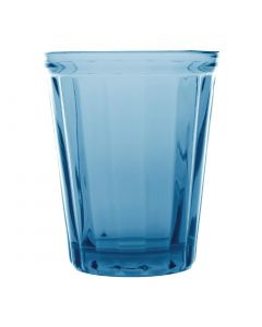This is an image of a Olympia Cabot Panelled Tumbler Blue - 260ml 9oz (Box 6)