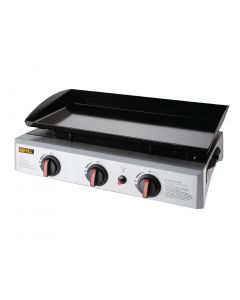 This is an image of a Buffalo Gas Griddle - 630x360mm cooking area 75kW - LPG