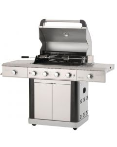 This is an image of a Lifestyle St Lucia Gas BBQ cw Rotisserie Lights and Bottle Opener LFS681