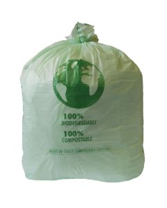 This is an image of a Jantex Compostable Swing Bin Liner 90 Litre Pack of 20