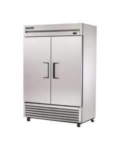 This is an image of a True 2 Door 1388L Cabinet Freezer T-49F-HC