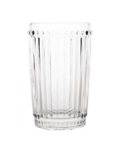 This is an image of a Olympia Baroque Tumbler Clear - 395ml 14oz (Box 6)