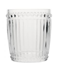 This is an image of a Olympia Baroque Rocks Glass Clear - 325ml 115oz (Box 6)