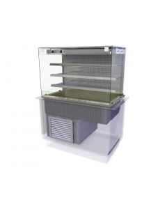 This is an image of a Kubus Drop In Multideck Self Service 1525mm KMDF4HT