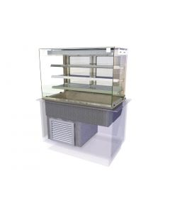 This is an image of a Kubus Drop In Multideck Self Service 1525mm KMDR4HT
