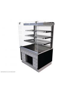 This is an image of a Kubus Drop In Slimline Multideck 600mm KPC6ASHT