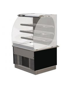 This is an image of a Designline Drop In Slimline Multideck Self Service 600mm