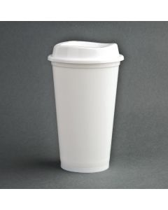 This is an image of a Olympia PP Coffee Cup and Lids - 94x160mm (Box 25)