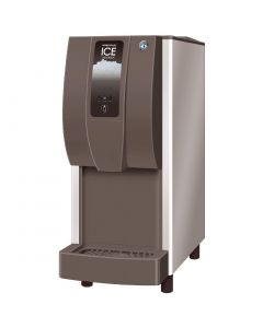 This is an image of a Hoshizaki Cubelet Ice and Water Push Button Dispenser DCM-120KE-P