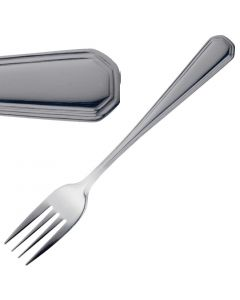 This is an image of a Olympia Monaco Table Fork StSt (Box 12)